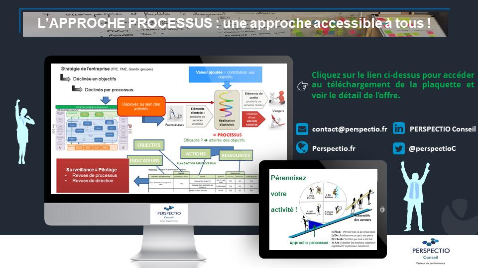 L'approche processus : une approche accessible à tous.